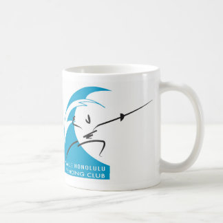 Salle Honolulu: teaching hawaii to fence... Coffee Mug