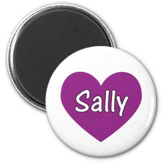 Sally 2 Inch Round Magnet