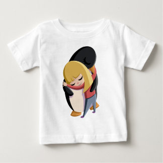 Sally and Sherbert the Penguin Baby T-Shirt