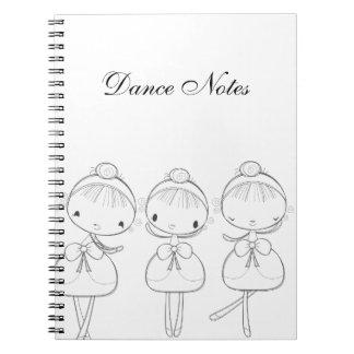 Sally Ballerina Notebook