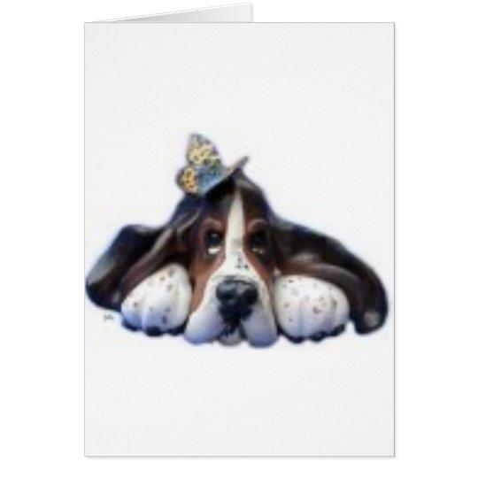 sally butterfly card