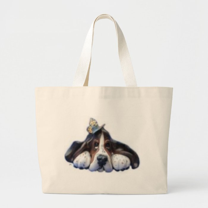 sally butterfly large tote bag