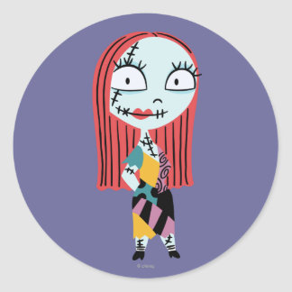 Sally Classic Round Sticker