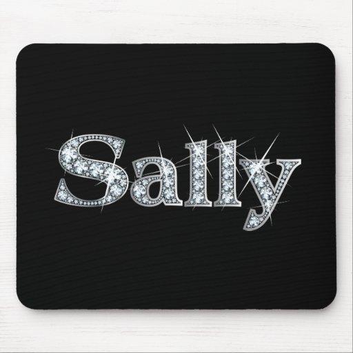 "Sally ""Diamond Bling""  Mousepad"