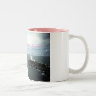 Sally Garozzo, earth meet heaven mug