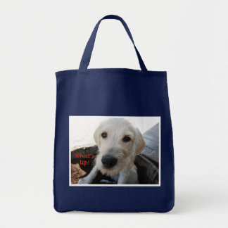 Sally Hey What's Up Grocery Tote Bag