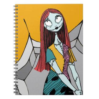 Sally in Spider Web Notebook
