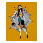 Sally in Spider Web Print