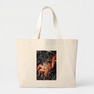 Sally lightfoot crab Galapagos Islands Bags