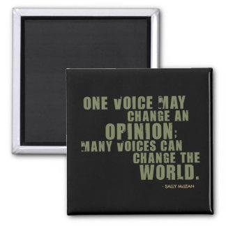 Sally McLean Quote Fridge Magnets