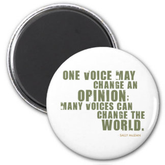 Sally McLean Quote Magnets