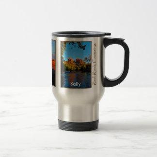 Sally on Red Rock Crossing Mug