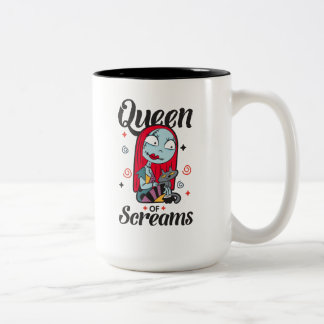 Sally | Queen of Screams Two-Tone Coffee Mug