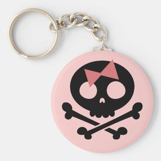 Sally Roger -bw Keychain