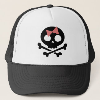 Sally Roger -bw Trucker Hat