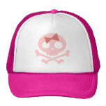 Sally Roger -pink Trucker Hat