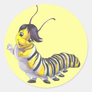 Sally the Caterpillar Stickers