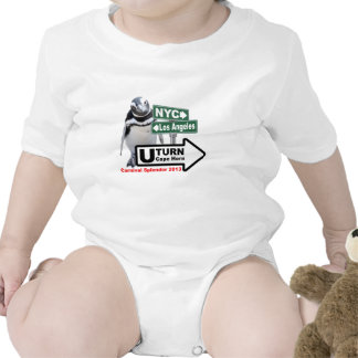 Sally The Penguin U-Turn for Grandchildren Shirts