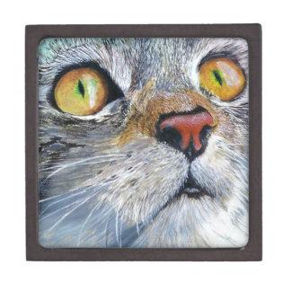 Sally the Tabby Cat Jewelry Box
