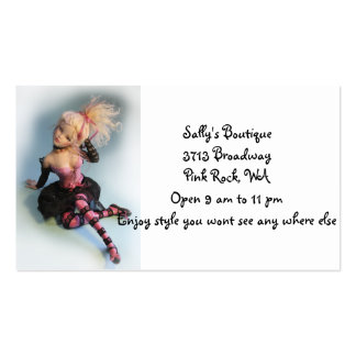 Sally's Boutique Business Card