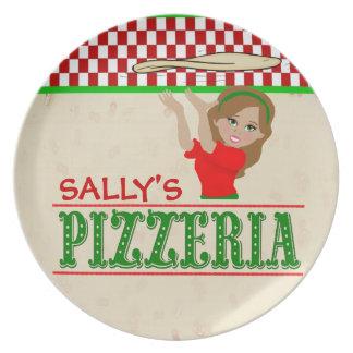 Sally's Pizzeria Plate