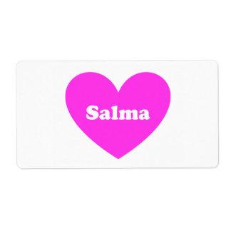 Salma Etiquetas De Envío