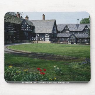 Salmesbury Pasillo, mansión isabelina, Preston, La Alfombrillas De Ratón
