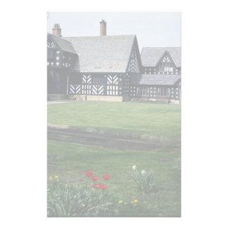 Salmesbury Pasillo, mansión isabelina, Preston, Papelería De Diseño