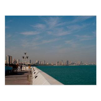 Salmiya, Kuwait city scape view Postcard