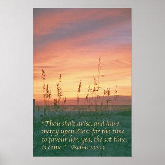 Salmo 102 póster