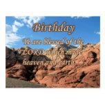 Salmo 115-15 del cumpleaños tarjetas postales