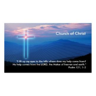 Salmo 121 1-2 - Tarjeta de visita cristiana