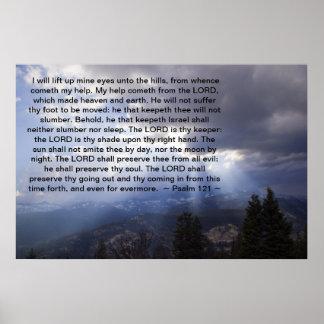 Salmo 121 póster