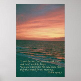 Salmo 130 póster