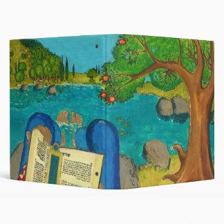 Salmo 1 - El hombre lee el salmo 1 en biblia hebre