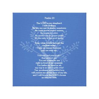 Salmo 23 CEB, Impresiones De Lienzo