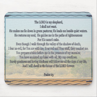 Salmo 23 alfombrilla de ratón