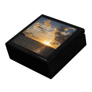 Salmo 27 1 el señor Is My Light Caja De Regalo