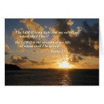 Salmo 27 1 el señor Is My Light Tarjeta