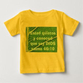 salmo 46:10 infant shirt
