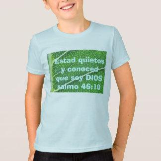 salmo 46:10 kids shirt