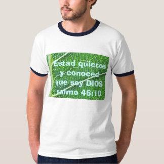 salmo 46:10 mens shirt