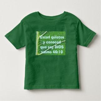 salmo 46:10 toddler shirt