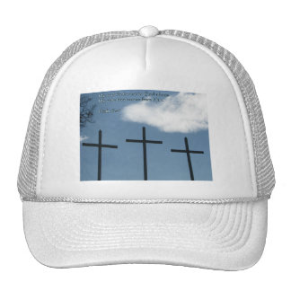 Salmo 62-1 tres cruces gorro