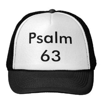 Salmo 63 gorras