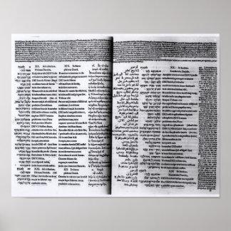 Salmo de David: Psalterim Octaplums, 1516 Impresiones