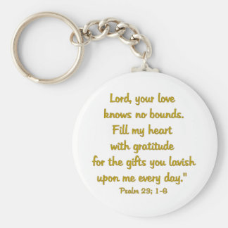 salmo de la gratitud llaveros personalizados