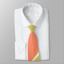 Salmon and White Wine-Colored Tie