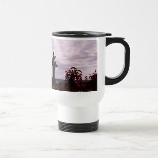 Salmon Angel Travel Mug