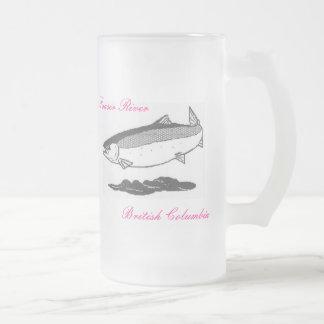 Salmon beer mug